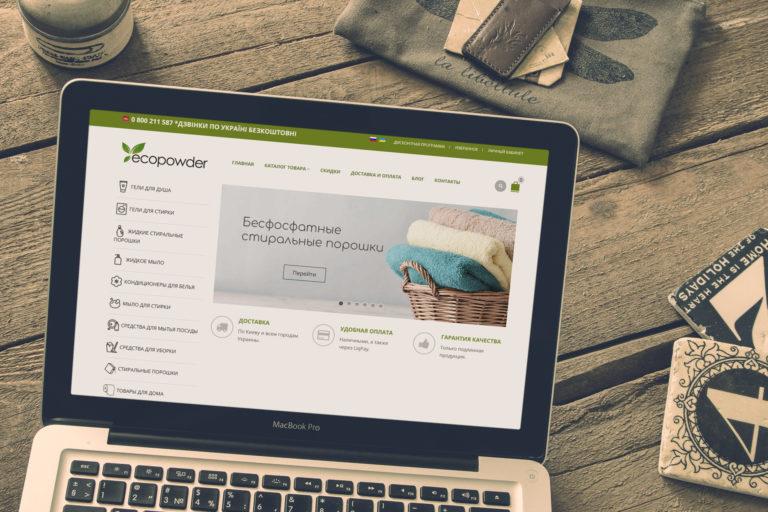Интернет-Магазин бесфосфатной продукции EcoPowder